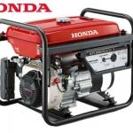 """เครื่องกำเนิดไฟฟ้าเครื่องยนต์เบนซิน """"HONDA"""" #ER2500CX ขนาด 2 KW. (Gasoline Generator """"HONDA""""#ER2500CX 2 KW.)"""