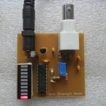 LED Field Strength Meter 1-500 MHz เครื่องมือวัดความเข้มสนามแม่เหล็กไฟฟ้า