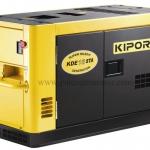 เครื่องกำเนิดไฟฟ้า เครื่องยนต์ดีเซลขนาด 13 KVA KIPOR #KDE16STA Diesel Engine 13 kva Silent type