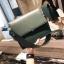 กระเป๋าสะพายข้างผู้หญิง Leather around สีดำ thumbnail 14