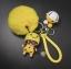 พวงกุญแจ ขนฟู รุ่น Baby doll สีเหลือง thumbnail 1