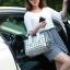 กระเป๋าสะพายข้างผู้หญิงสีเมทัลลิค Fashion Lady thumbnail 9
