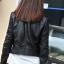 เสื้อแจ็คเก็ต เสื้อหนังแฟชั่น พร้อมส่ง สีดำ หนัง PU คุณภาพงานพรีเมี่ยม สุดเท่ห์ แต่งหัวไหล่เก๋มากๆ thumbnail 2