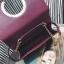 กระเป๋าสะพายข้าง squre curcle สีเทา สำเนา thumbnail 4