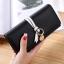 กระเป๋าสตางค์ผู้หญิง Ribbon Cute สีดำ thumbnail 1