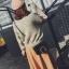 กระเป๋าสะพายข้าง squre curcle สีเทา สำเนา thumbnail 8