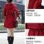 เสื้อกันหนาว พร้อมส่ง สีแดง ตัวยาวคลุมสะโพก เนื้อผ้าดีมากๆเลยค่ะ งานสวยสมราคาแน่นอน thumbnail 8