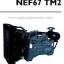 """เครื่องยนต์ดีเซล Diesel Engine """"IVECO"""" 6 สูบ Cylinder # NEF67TM2 ขนาด prime 114 kw. @ 1500 RPM. thumbnail 1"""