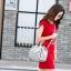 กระเป๋าสะพายข้างผู้หญิงสีเมทัลลิค Fashion Lady thumbnail 12