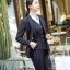 ชุดสูททำงาน และ กระโปรง กางเกง เสื้อกั๊ก : ชุดสูททำงาน เซ็ตคู่ เสื้อสูทสีดำ คอปก แขนยาว ติดกระดุม 2 แถว ทรงเรียบหรู เข้าชุดกับ กระโปรง กางเกง เสื้อกั๊ก thumbnail 6