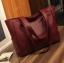กระเป๋าสะพายข้างใบใหญ่ The liary สีเทา thumbnail 2