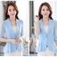 เสื้อสูทแฟชั่น เสื้อสูทสำหรับผู้หญิง พร้อมส่ง สีฟ้า ผ้าคอตตอน 100 % เนื้อดี คุณภาพงานพรีเมี่ยม thumbnail 3