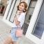 กระเป๋าผู้หญิง mini shoulder pink thumbnail 5
