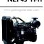 """เครื่องยนต์ดีเซล Diesel Engine """"IVECO"""" 4 สูบ Cylinder # NEF45TM1 ขนาด prime 77 kw. @ 1500 RPM. thumbnail 1"""