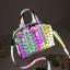 กระเป๋าสะพายข้างผู้หญิงสีเมทัลลิค Fashion Lady thumbnail 6