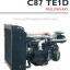 """เครื่องยนต์ดีเซล Diesel Engine """"IVECO"""" 6 สูบ Cylinder # Cusor C87TE1D ขนาด prime 310 HP @ 1500 RPM. thumbnail 1"""