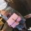 กระเป๋าสะพายข้างผู้หญิง Lovely girl สีฟ้า thumbnail 3