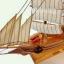 เรือสำเภาไม้จำลองตั้งโชว ขนาด 14 นิ้ว thumbnail 4