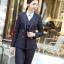 ชุดสูททำงาน และ กระโปรง กางเกง เสื้อกั๊ก : ชุดสูททำงาน เซ็ตคู่ เสื้อสูทสีดำ คอปก แขนยาว ติดกระดุม 2 แถว ทรงเรียบหรู เข้าชุดกับ กระโปรง กางเกง เสื้อกั๊ก thumbnail 13