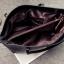 กระเป๋าสะพายข้างใบใหญ่ Leather woman (Red) thumbnail 10