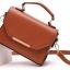 กระเป๋าสะพายข้างผู้หญิง PU Kelly (Light Gray) thumbnail 2