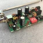 ชุดเครื่องส่งวิทยุ FM 14 ช่องความถี่แบบบัดกรีแล้ว พร้อมเสาสไลต์