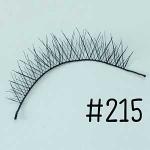 ขนตาปลอม แบบ10คู่ ราคาปลีก #215 แกนไหม