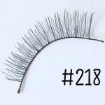 ขนตาปลอม แบบ10คู่ ราคาปลีก #218 แกนไหม