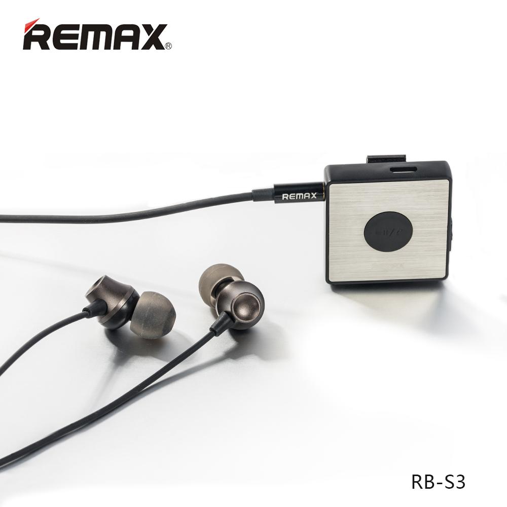 หูฟังบลูทธ Remax RB-S3 Sport Clip-on Bluetooth Headset หูฟังบลูทธ Remax  RB-S3 Sport Clip-on Bluetooth